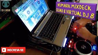 Baixar Configurando: Numark MixDeck Quad & Virtual DJ 8 - By DJ Lugui (BR)