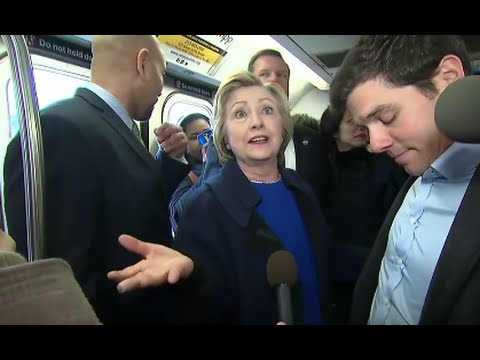 Hillary Clinton Has a Not-So-Smooth NYC Subway Ride