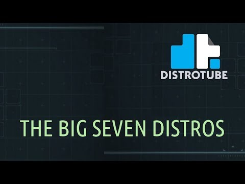 The Big Seven Linux Distributions