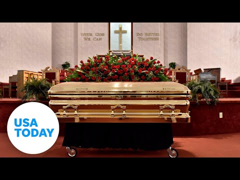 Memorial service for George Floyd held in North Carolina | USA TODAY