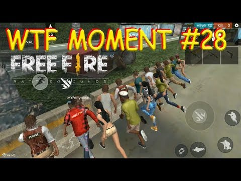 WTF MOMENT (28) FREE FIRE BATTLEGROUND