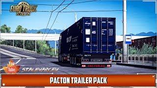 Euro Truck Simulator 2➤ Мод Pacton Trailer Pack v2.0 (v1.35.x, 1.36.x)