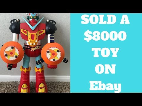 Rare Shogun Warrior Toy Sold for $8000 on Ebay