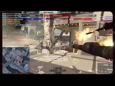 BF 4 Hackers exposed: pearlymussel on Shanghai [Tank Hacker]