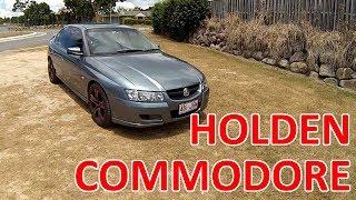 057 Австралийский автомобиль Holden Commodore (наследник Opel Omega)