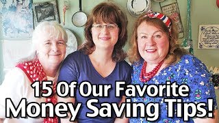 15 Of Our Favorite Money Saving Tips! Best Money Saving Tips