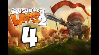 Mushroom Wars 2. Прохождение. Часть 4 (Гриб Некромант. Союзник)