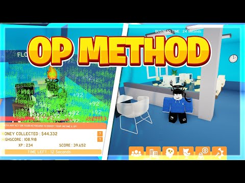 HOW TO MAKE MONEY FAST ON Online Business Simulator 2 (Roblox)