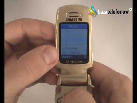Prezentacja telefonu Samsung SGH-M300
