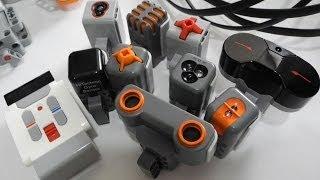 Lego Mindstorms EV3 Built-in Program Port Test Review-Sensor Part[720P]