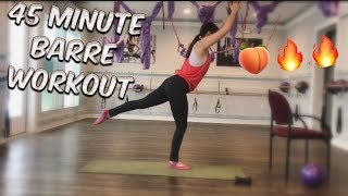 45 Minute Barre Workout