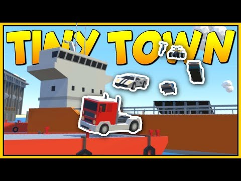 THIS IS THE CRAZIEST MOST DANGEROUS RACE EVER - Tiny Town VR Gameplay - VR HTC Vive