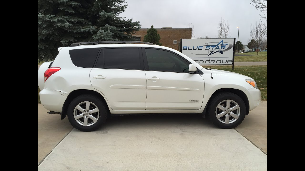 2007 toyota rav4 limited 4dr suv 4wd v6 for sale in longmont youtube. Black Bedroom Furniture Sets. Home Design Ideas