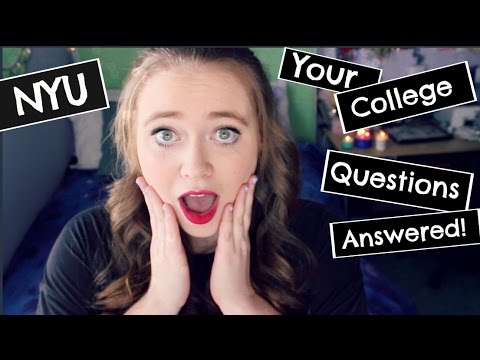 All About NYU | Living in NYC, College Parties, Grades, Making Friends, Celebrities, and more!