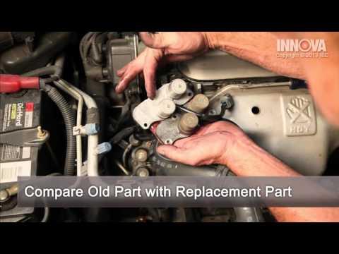 How to change Shift Control Solenoid Valve - 1997 Honda Accord