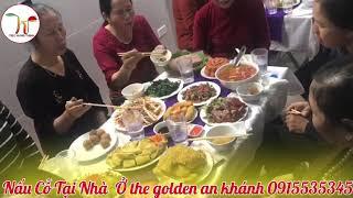 Nấu Cỗ Ở Chung Cư The Golden An Khánh 0915535345