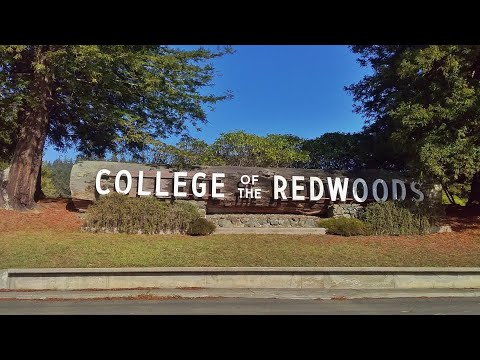 A Drive Around College of the Redwoods - December 2020