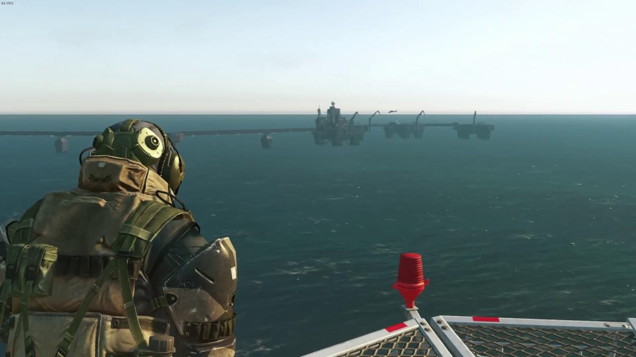 MB Ocean settings - Infinite Heaven mod - MGSV