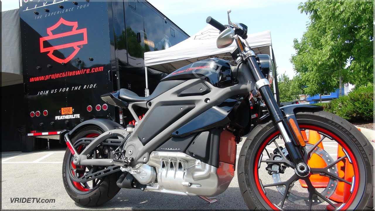 Harley Davidson Livewire Electric Motorcycle - YouTube