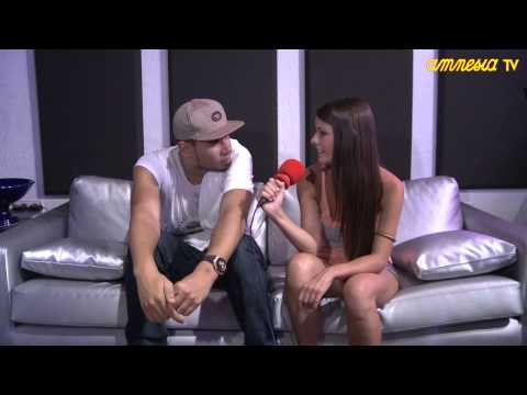 Interview Afrojack @ AmnesiaTV 2013