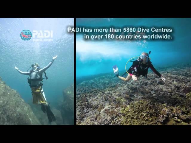 Start Scuba Diving with PADI