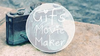 Como colocar GIF no Movie Maker