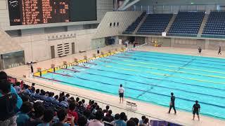 2017.7.1 横浜国際プール記録会 男子100mSF 最終組