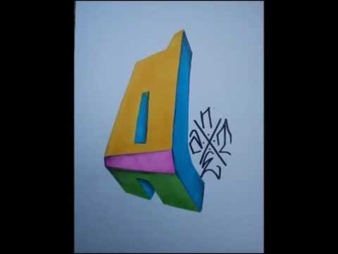 Graffiti Abecedario 3d Youtube