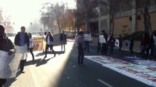 Deportation protest in Fresno