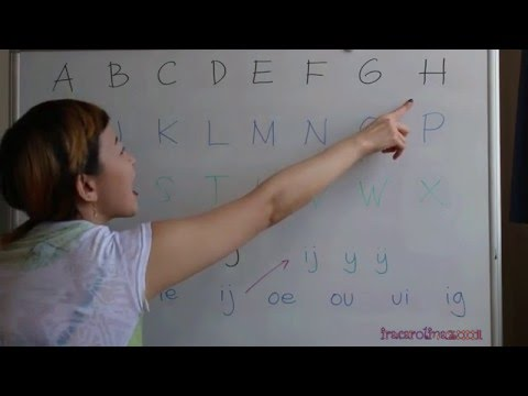 LEARN DUTCH LANGUAGE/ NETHERLANDS [IN ENGLISH] #1 ABCD .. XYZ