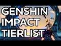 - Genshin Impact Power/Usefulness Tierlist - Patch 1.1