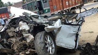 palsana tol naka par live track cctv accidents video