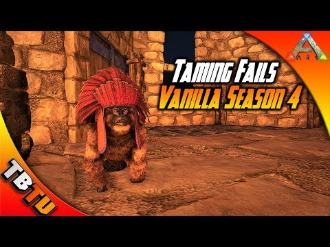DYING WITH EVO! Ark Taming Fails! The Beginning of Season 4! Ark Survival Evolved - Gaming Evolved