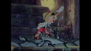 Pinocchio (1940) - Search & Escape from Monstro