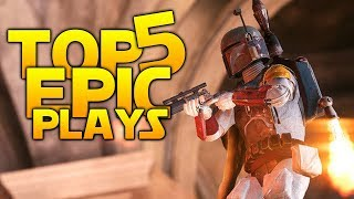 Star Wars Battlefront 2 Top 5 Plays: 128 KILLS IN ONE GAME!?