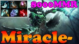 Dota 2 - Miracle- 8000MMR Plays Outworld Devourer - Full Game - Ranked Match Gameplay