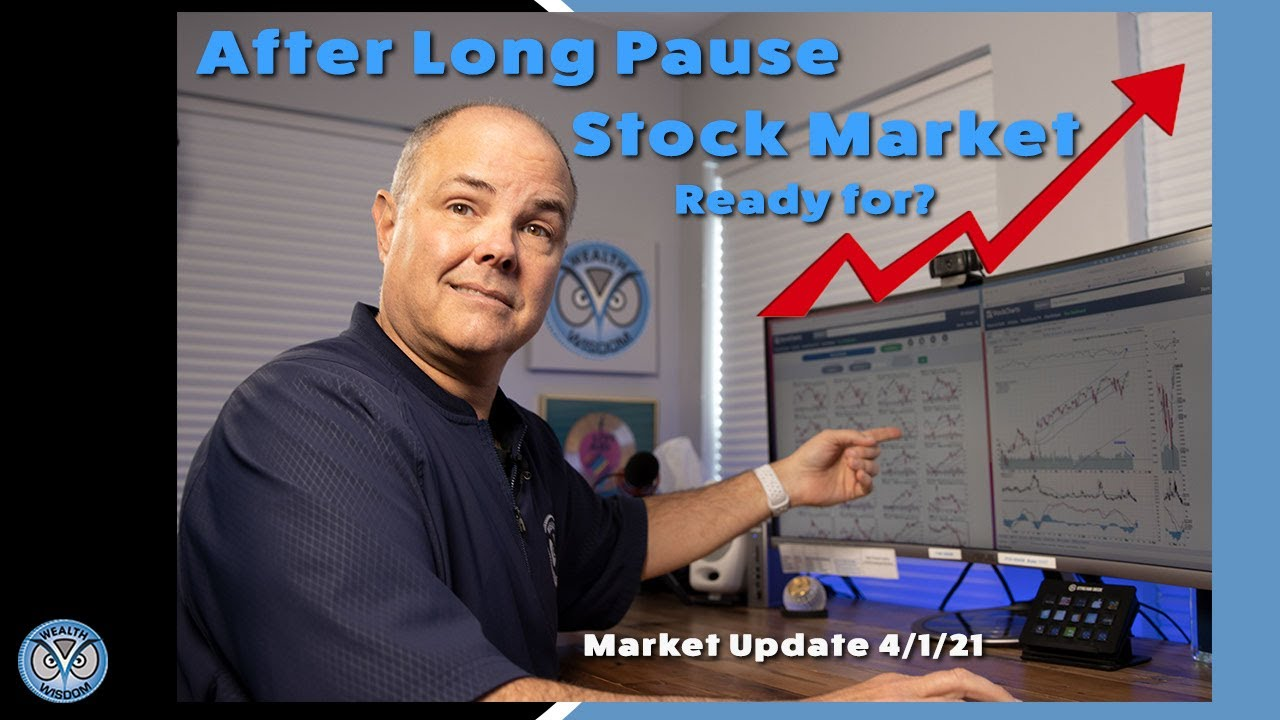 Market Update April 1st, 2021 Stock Markets pause, before they go up 👆