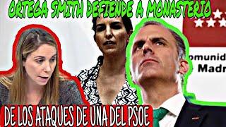 ORTEGA SMITH DEFIENDE A ROCIÓ MONASTERIO del ataque de una del psoe, en el ayuntamiento
