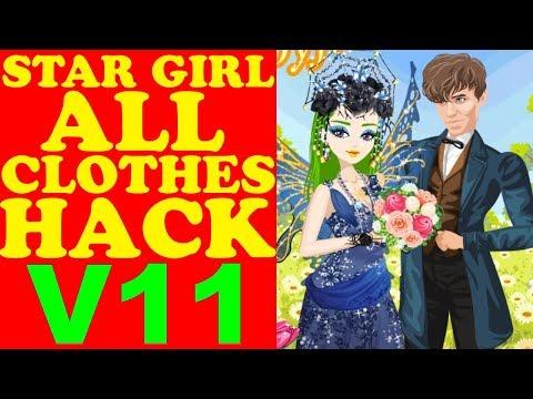 STAR GIRL ALL CLOTHES HACK V11/ВзломВсехВещей/所有的衣服哈克/すべての服は、ハック(Unreleased & Rare Items)2017