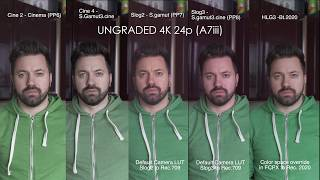 The best picture profile for the sony a7iii hlg vs cine4