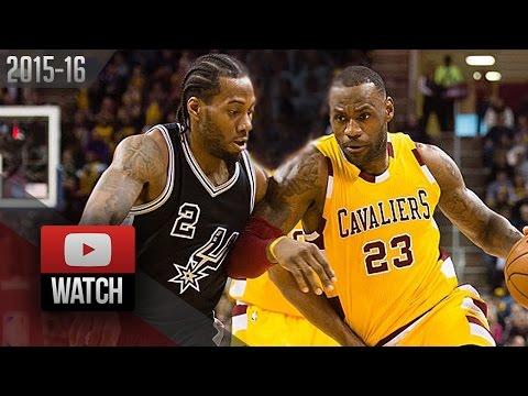 LeBron James vs Kawhi Leonard DUEL Highlights (2016.01.30) Cavaliers vs Spurs - SICK!