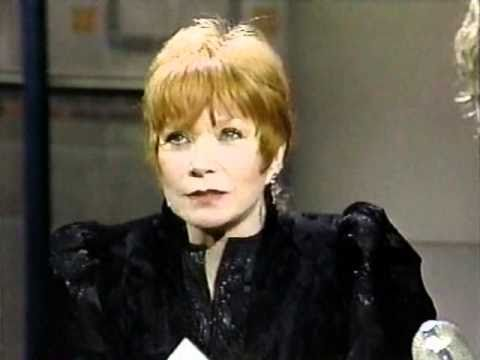 Shirley Maclaine on Late Night (1988) (Part 1 of 2)