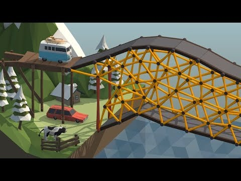 Using Basic Geometry to play Poly Bridge