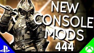 Skyrim Special Edition: ▶️5 BRAND NEW CONSOLE MODS◀️ #444 (PS4/XB1)