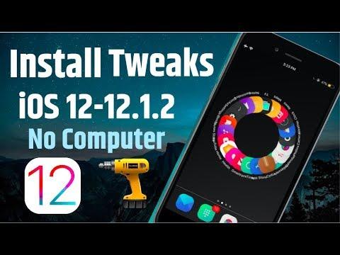 Install Cydia Jailbreak Tweaks On iOS 12-12 1 2 Rootless Jailbreak - No  Computer - iPhone & iPad