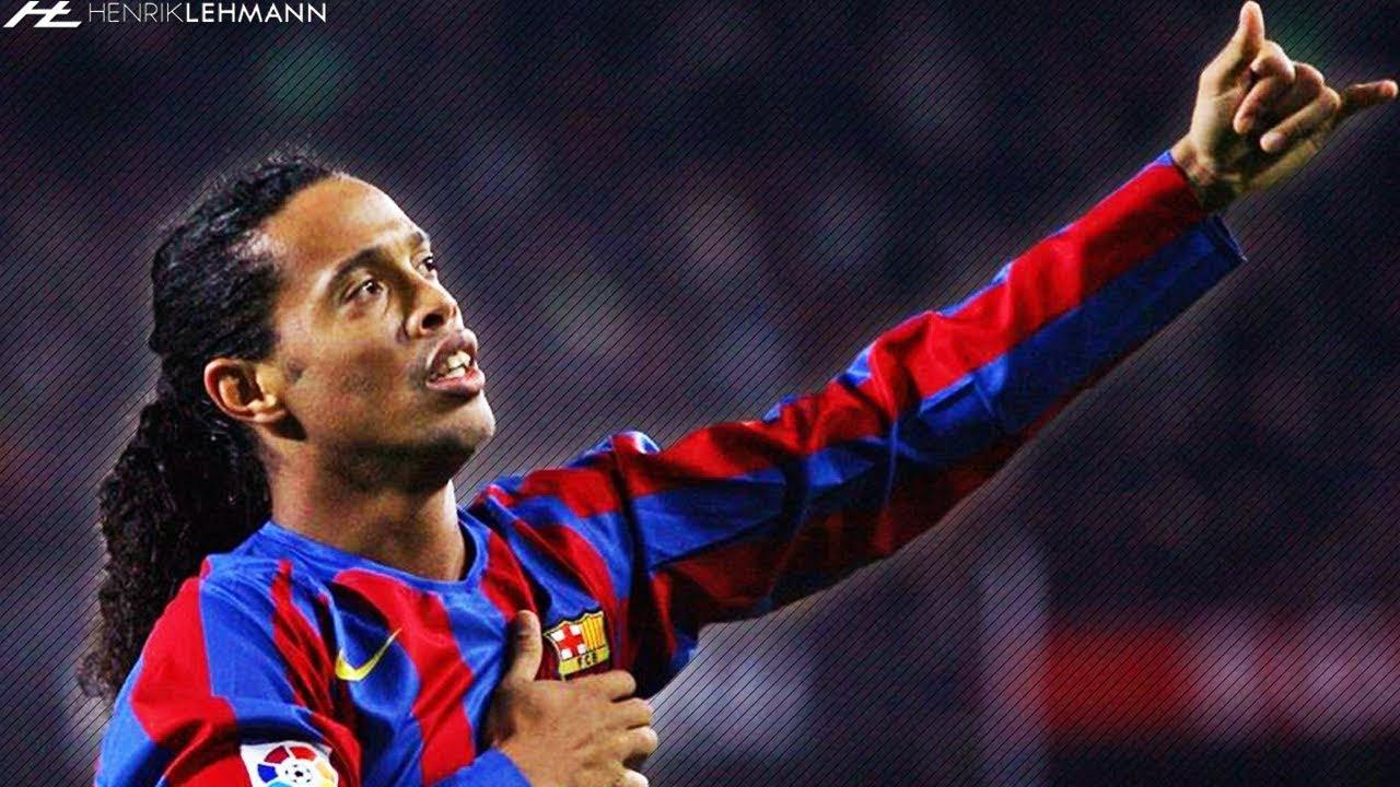 Ronaldinho Gaucho The Joy Of Barcelona 2003 2008 Youtube