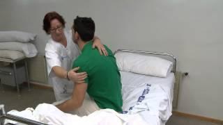 Movilización pacientes encamados