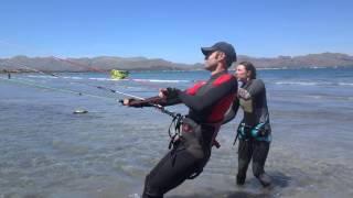 kitesurfing leçons en francais Mallorca kite ecole a Pollensa edmkpollensa