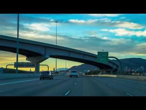 13-15: Salt Lake City Sunset: I-15 North to I-80 West