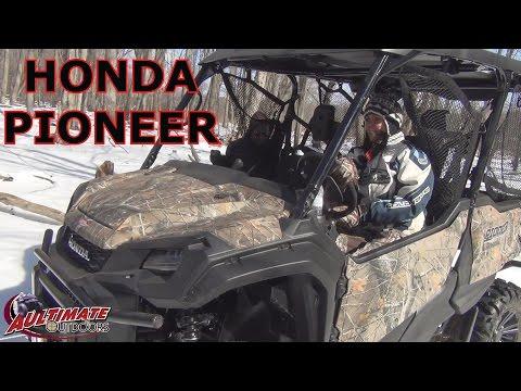2016 HONDA PIONEER 5 SEATER 1000 AND CUSTOM REAR BUMPER...RIDE AROUND CAMP